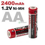 Tölthető ceruzaelem, akkumulátor AA elem