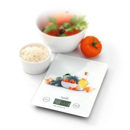 Home extra vékony digitális konyhai mérleg