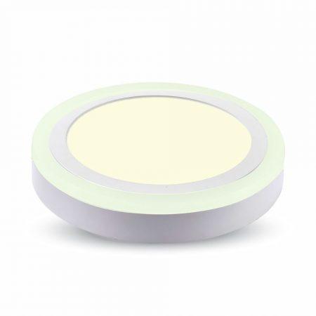 V-TAC mennyezeti Twin LED panel 22W - Meleg fehér - 4896