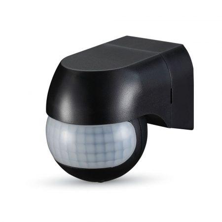 V-TAC infra mozgásérzékelő 180°-os - fekete - mozgatható fejjel - 5089