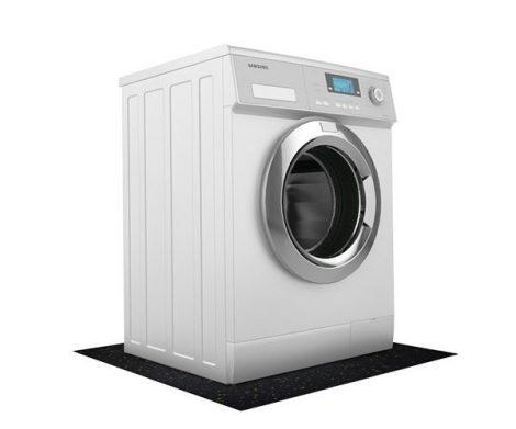 Rezgéscsillapító mosógép alátét 60x45x0,6cm