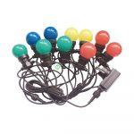 V-TAC RGBY 10m színes ledes party fényfüzér - 7438