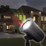 Kültéri lézer projektor, karácsonyi fényeffekt 230V / IP44