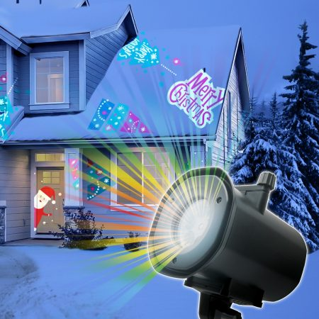 Beltéri lézer projektor, karácsonyi fényeffekt 230V / IP22