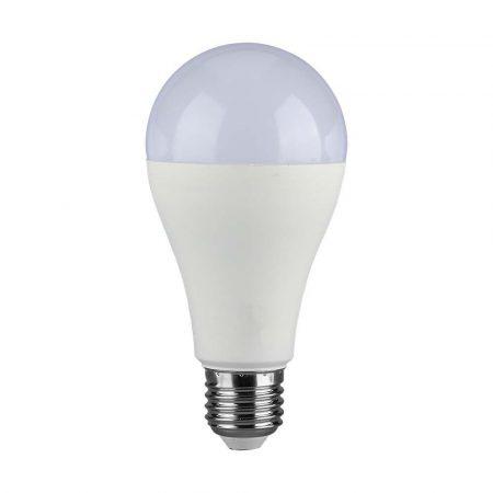 V-TAC 15W E27 A65 LED izzó - Természetes fehér - 4454