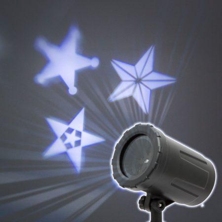 Lézer projektor, csillagos fényeffekt 230V / IP67