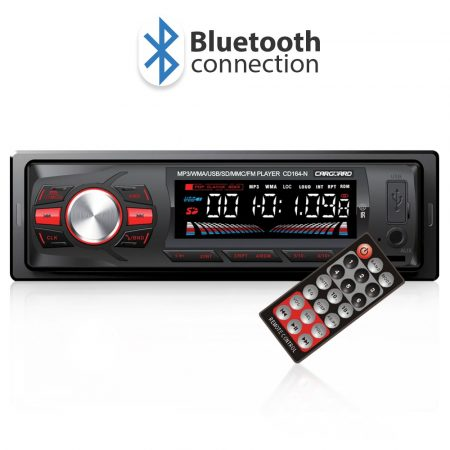 Carguard USB/MP3 lejátszó autórádió, bluetooth fejegység