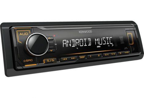 Kenwood USB/MP3 lejátszó autórádió - KMM-104AY
