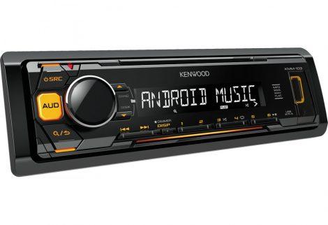 Kenwood USB/MP3 lejátszó autórádió - KMM-103AY