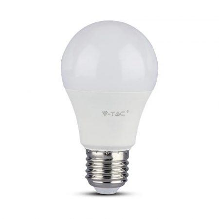 V-TAC PRO A++ 8.5W E27 LED izzó, 6400K - Samsung chip - 254