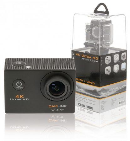 Camlink CL-AC40 WiFi 4K UHD akciókamera, vízálló sport kamera
