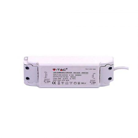 V-TAC 60 x 60 cm A++ 29W LED panel tápegység - 6259