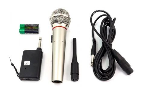 Vezeték nélküli karaoke mikrofon szett