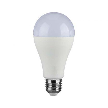 V-TAC 17W E27 A65 LED izzó - Hideg fehér - 4458