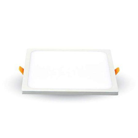 V-TAC süllyeszthető, négyzet LED panel extra vékony kerettel 8W - 4000K - 4944