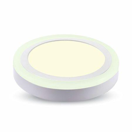 V-TAC Twin mennyezeti LED panel lámpa 15W - 3000K - 4893