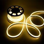 V-TAC flexibilis vízálló LED neon szalag 24V - IP68 - 3000K - 2612