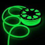 V-TAC flexibilis vízálló zöld LED neon szalag 24V - IP68 - 2616
