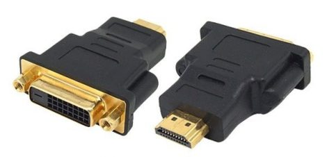 HDMI apa - DVI-D 24+1 anya átalakító