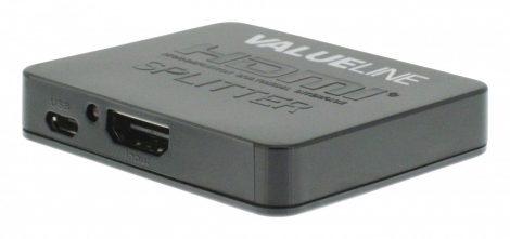 FHD/UHD kompatibilis HDMI elosztó splitter - 2port