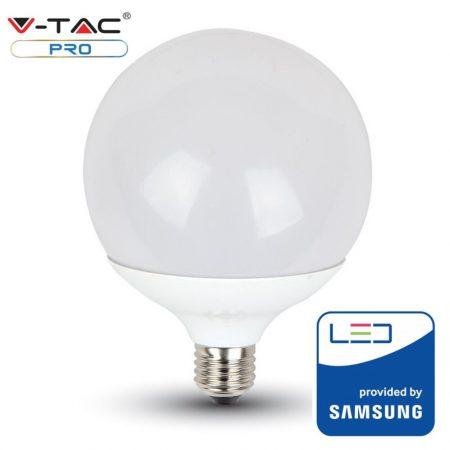 V-TAC PRO G120 17W E27 meleg fehér LED lámpa izzó - SAMSUNG chip - 225