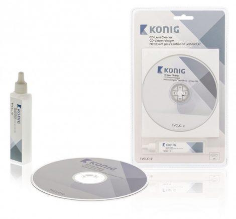 CD lézerlencse tisztító lemez folyadékkal