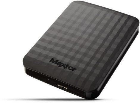"""Maxtor 2,5"""" winchester külső HDD merevlemez 1 TB, USB 3.0"""
