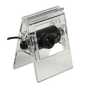 Formatervezett, csiptethető webkamera