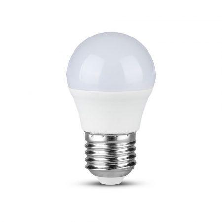 V-TAC PRO A++ 4.5W E27 LED izzó, 4000K - Samsung chip - 262