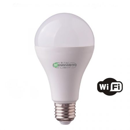V-TAC Smart Light 9W E27 RGBW WiFi okos LED izzó - 7451