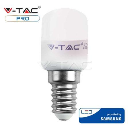 V-TAC PRO hűtőszekrény LED izzó 2W / E14 - 4000K - Samsung chip - 235