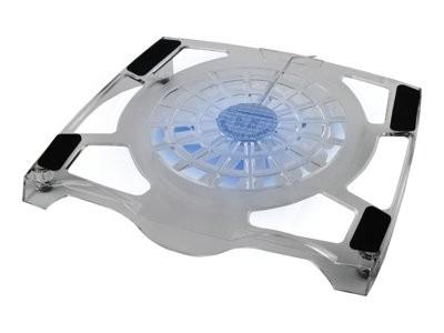 Laptop hűtő, notebook hűtőpad 16cm-es ventilátorral