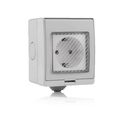 V-TAC Smart kültéri WiFi okos konnektor dugalj - 8414