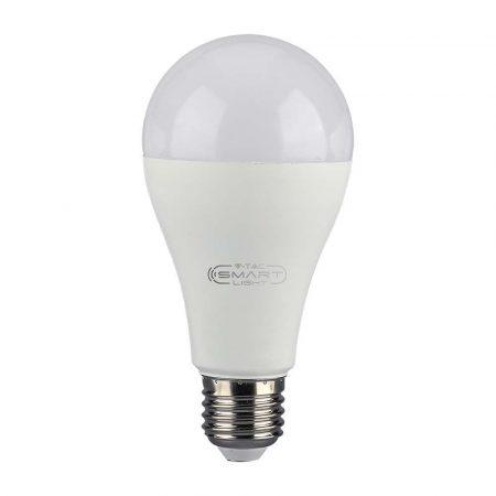 V-TAC Smart Light 18W E27 RGBW WiFi okos LED izzó - 7470