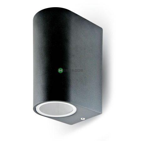 V-TAC Sleek rozsdamentes acél kültéri kétirányú fali lámpa 2xGU10 foglalattal - 7509