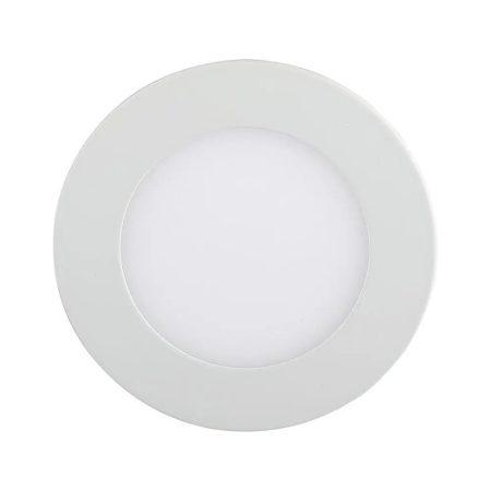 V-TAC süllyeszthető mennyezeti kerek LED lámpa panel - 18W, természetes fehér - 4861