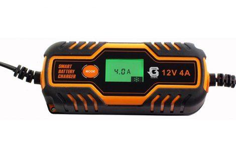 Global YH-HFWP1204A-2 automata intelligens akkutöltő 230V/6V-12V 4A