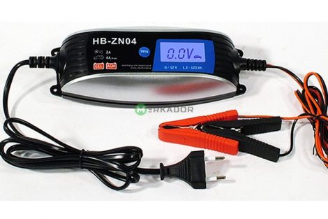 HB-ZN04 automata intelligens akkutöltő 230V/6V-12V 4A