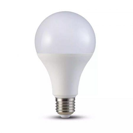 V-TAC 20W E27 A80 LED izzó - meleg fehér - 2710