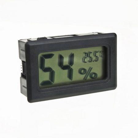 Digitális hőmérő és páratartalom mérő