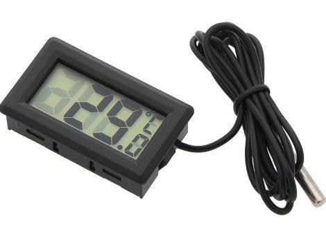 LCD kijelzős digitális hőmérő