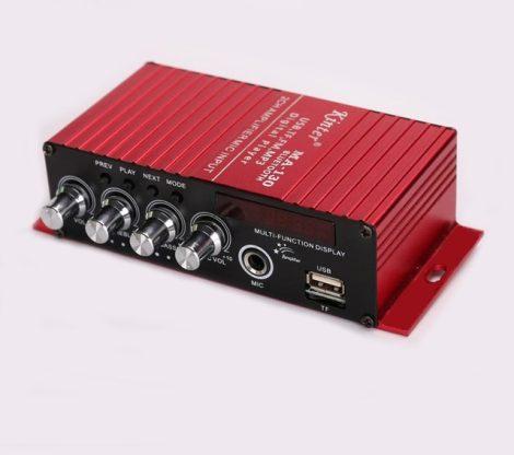 MA-130 mini sztereó HI-FI autó erősítő USB / SD - 2 csatornás