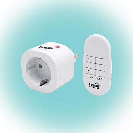 Home TH 111 távirányítós konnektor - dugalj szett távirányítóval