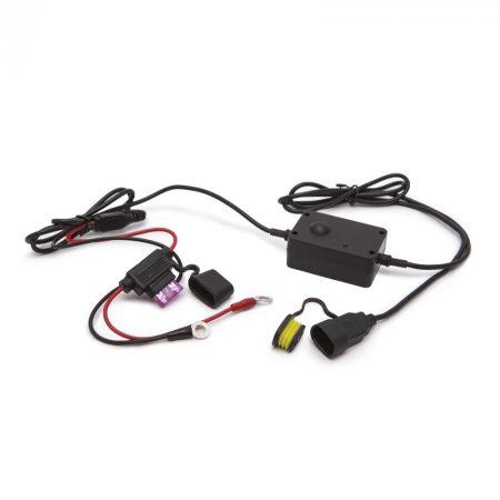 Motoros USB töltő 12V / 5V / 2.1A