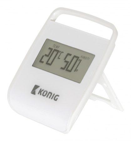Asztali digitális hőmérő és páratartalom mérő