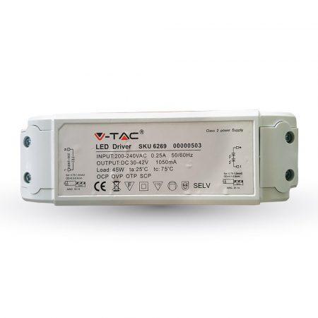 V-TAC 60 x 60 cm dimmelhető LED panel tápegység - 6269