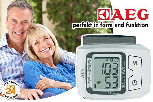 AEG BMG 5610 csukló vérnyomásmérő - merkador.hu