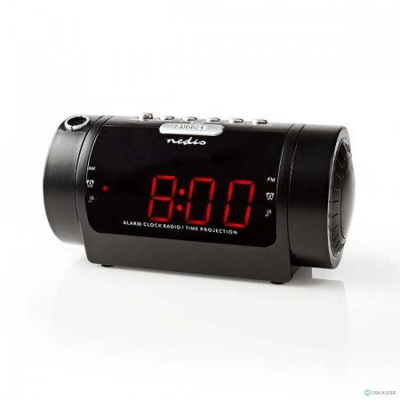 Kivetítős óra, projektoros FM rádiós ébresztőóra