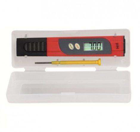 Digitális pH mérő, vízhőmérő