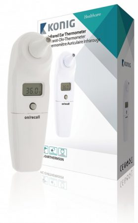 König HC-EARTHERM50N infravörös, digitális fülhőmérő